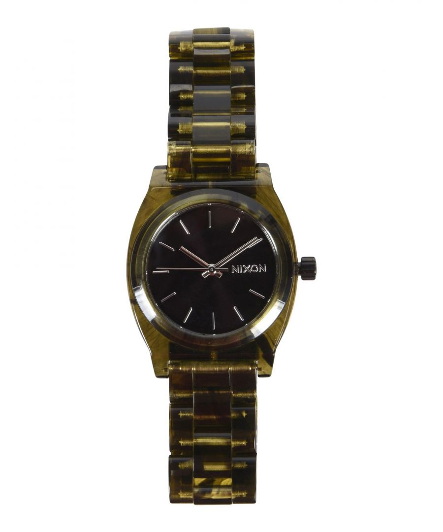Image for Nixon Black Water Resistant Analogue Watch