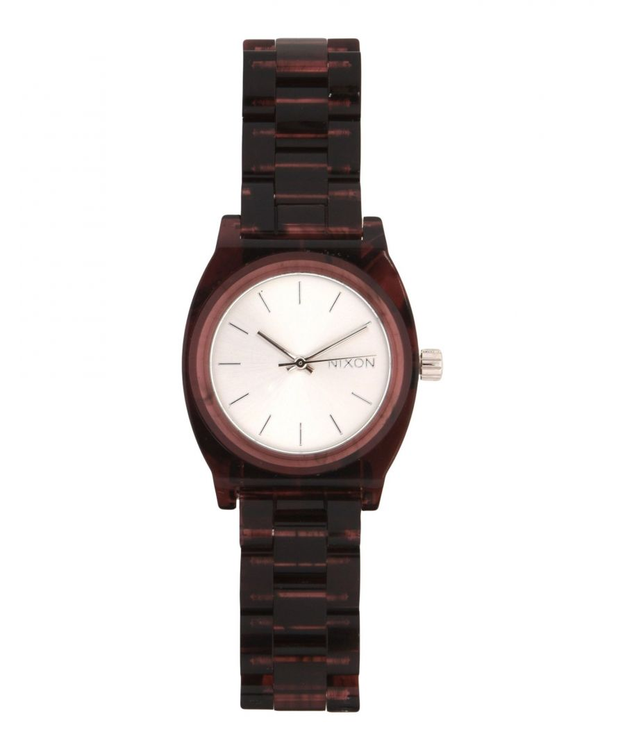Image for Nixon Silver Water Resistant Analogue Watch
