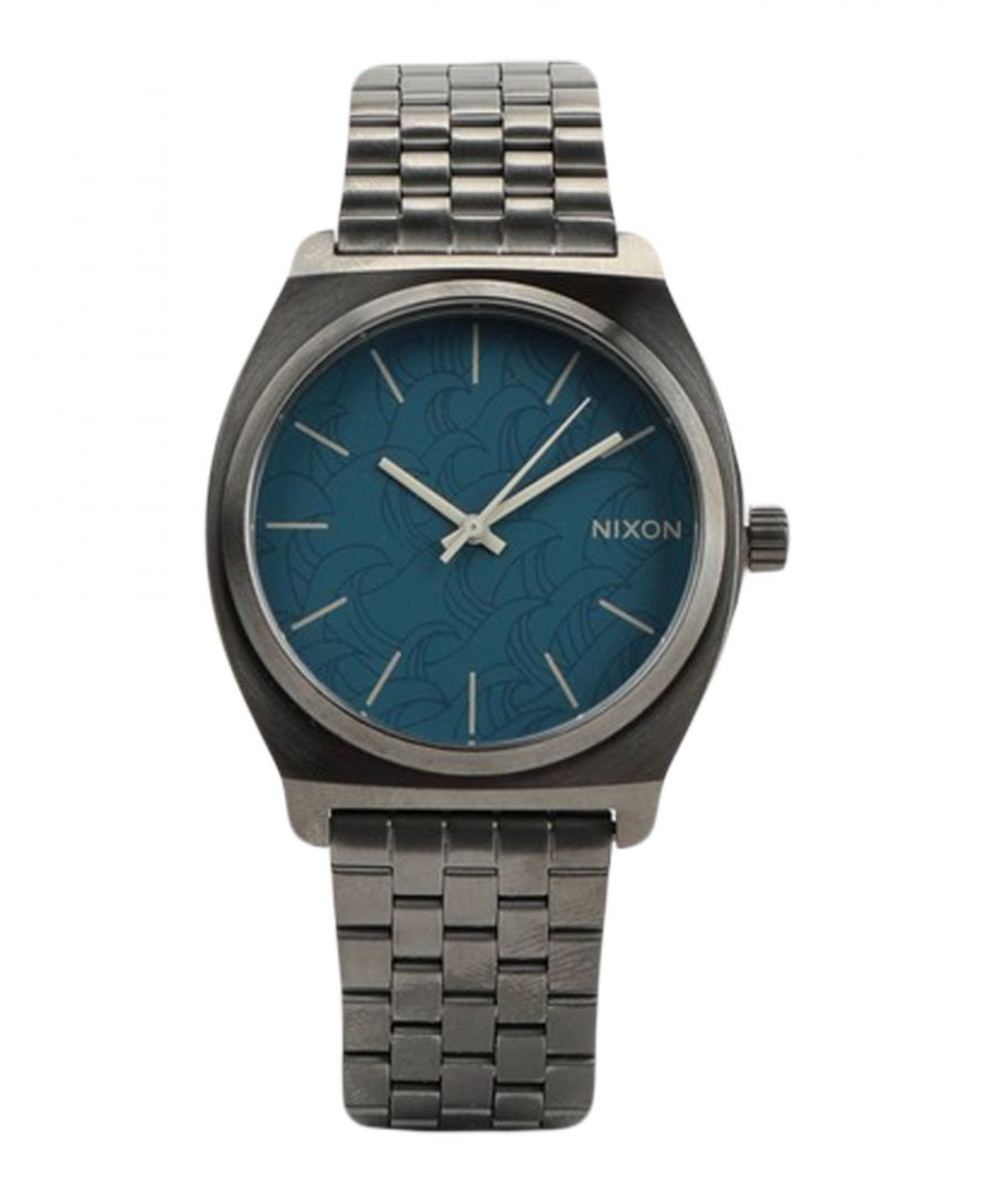 Image for TIMEPIECES Man Nixon Blue Stainless Steel