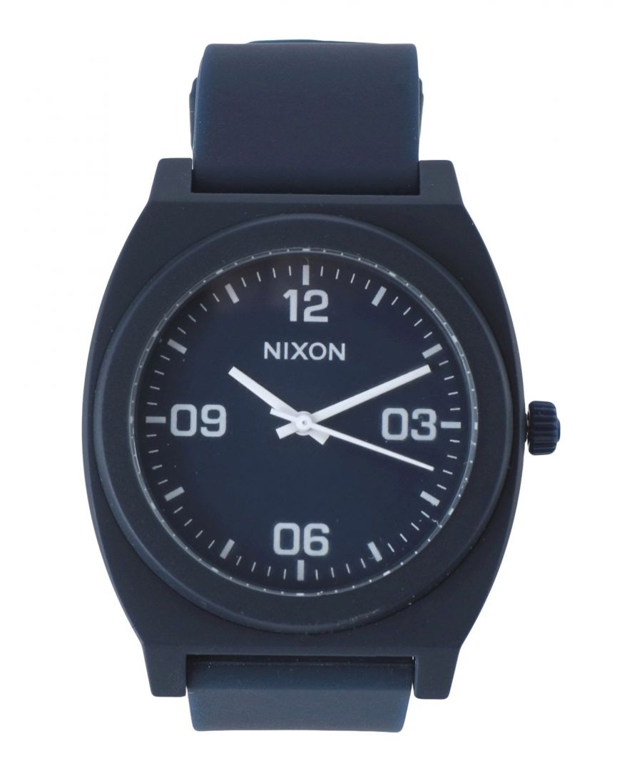 Image for TIMEPIECES Man Nixon Dark blue Polycarbonate