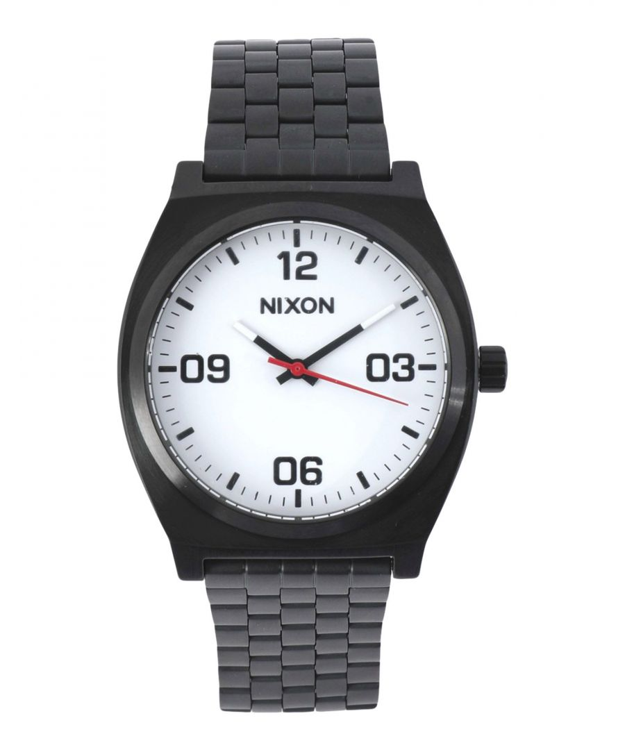 Image for TIMEPIECES Man Nixon White Stainless Steel