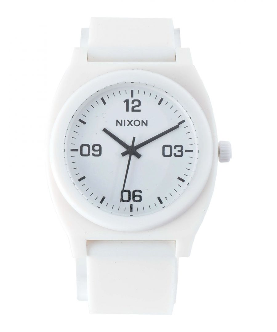 Image for Nixon White Water Resistant Analogue Watch