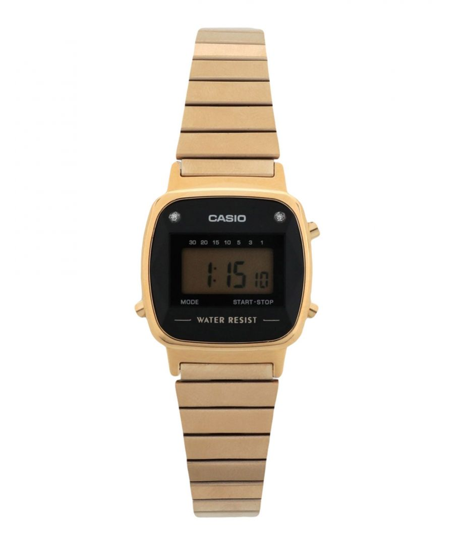 Image for TIMEPIECES Woman Casio Gold Stainless Steel