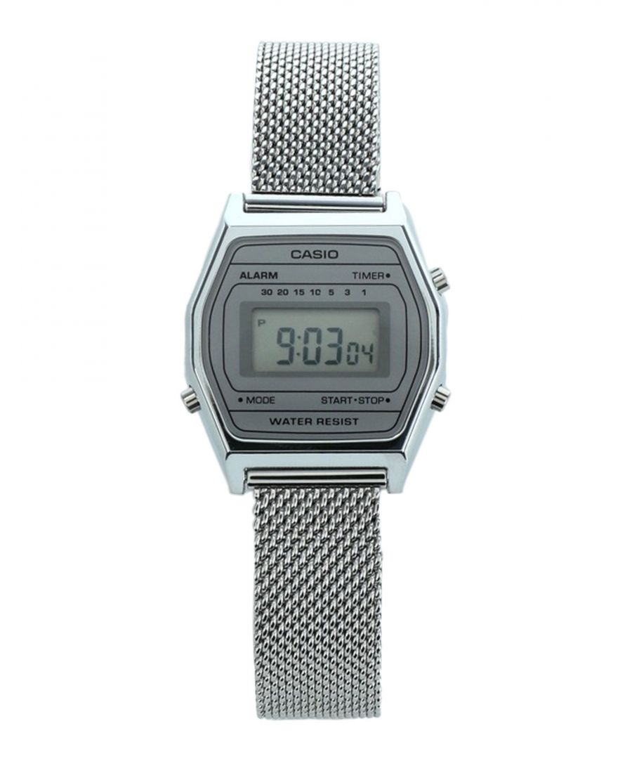 Image for TIMEPIECES Woman Casio Silver Stainless Steel