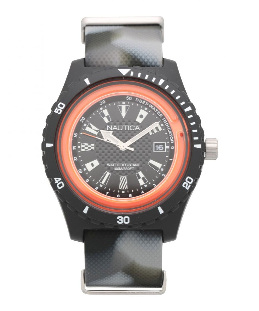 Image for TIMEPIECES Man Nautica Black Resin
