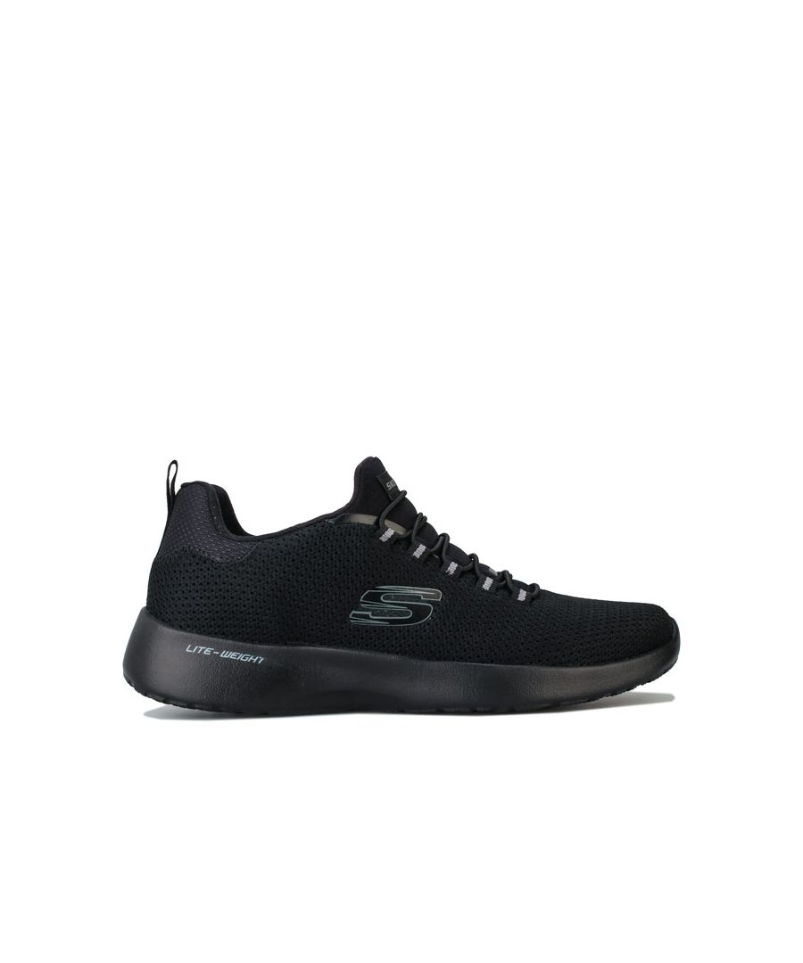 Image for Men's Skechers Dynamight Casual Sport Trainers in Black