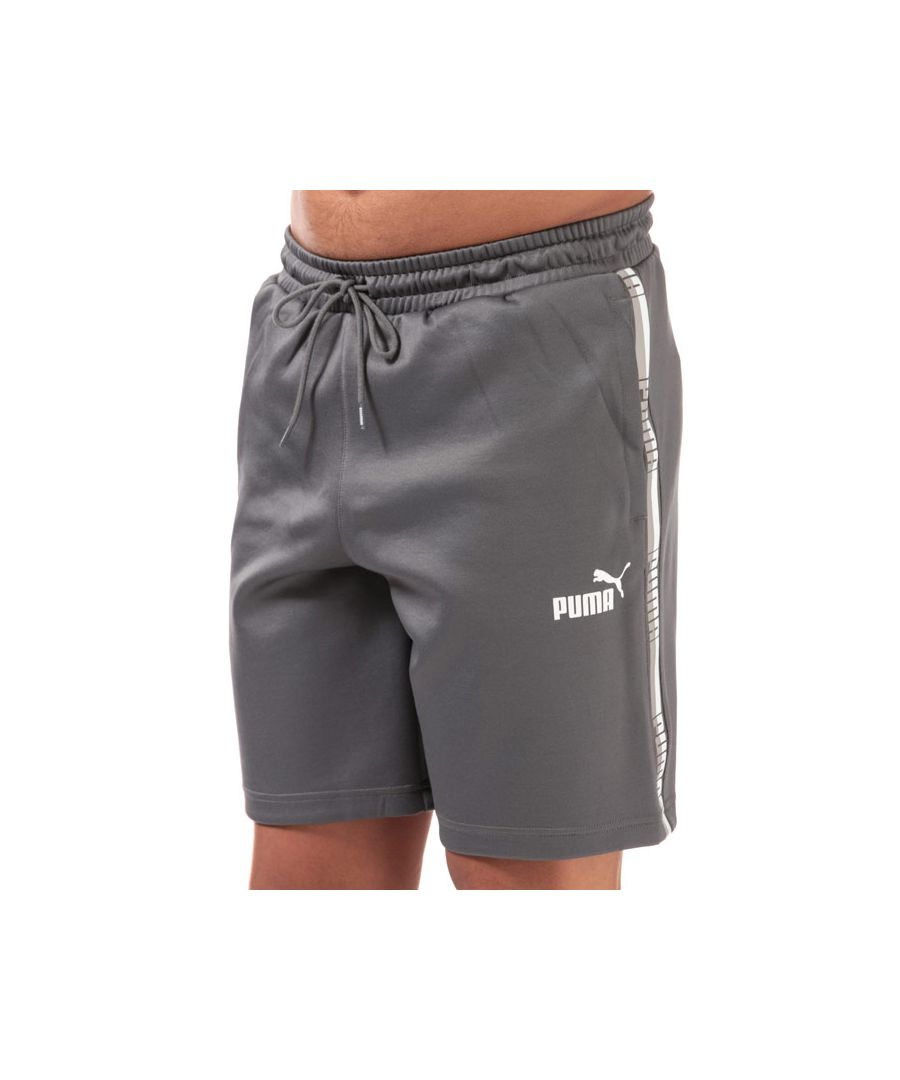 Image for Men's Puma Poly Tape Shorts in Grey