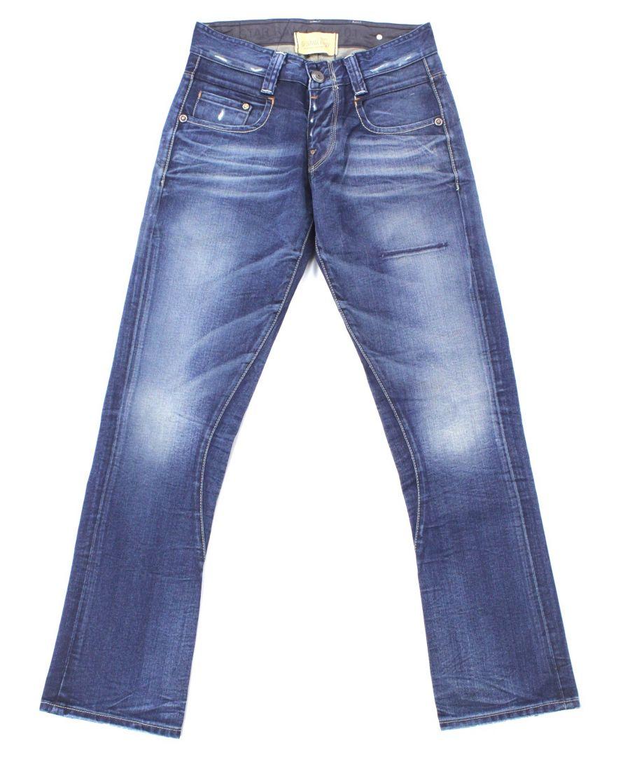 Image for G-Star Radar Tapered Rope Track Destroyed Cleve Denim Jeans