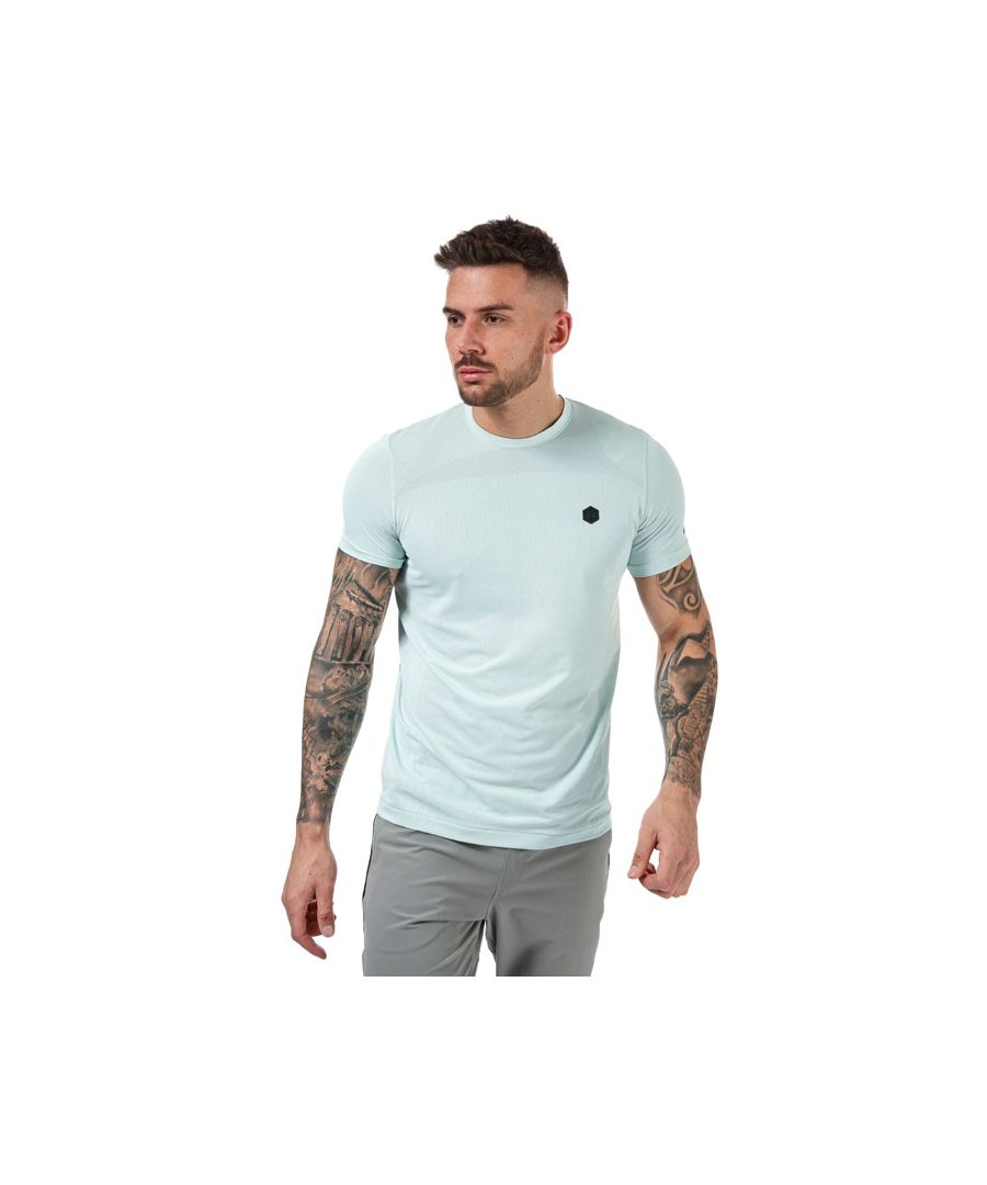 Image for Men's Under Armour Rush Seamless Fitted T-Shirt in Blue