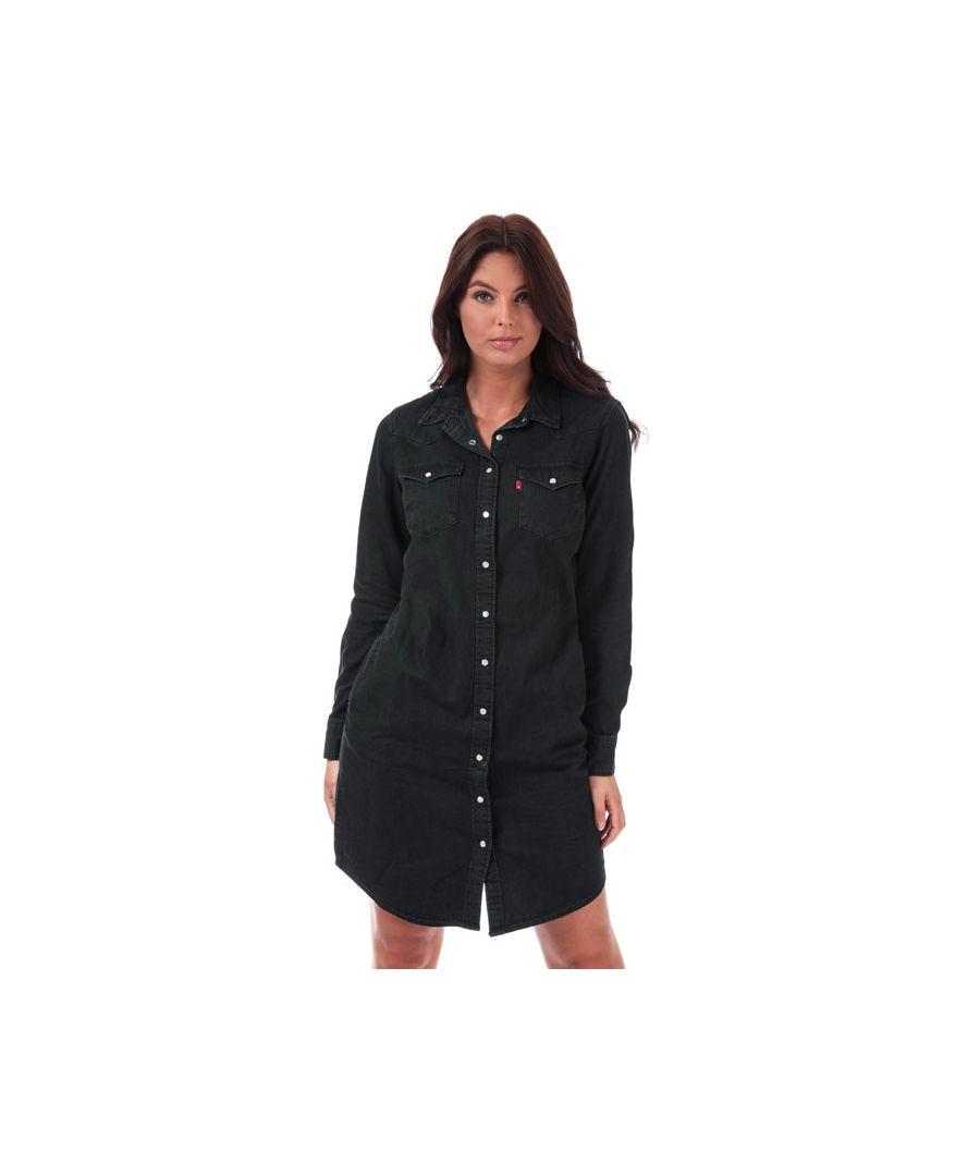 Image for Women's Levis Ultimate Western Dress in Black