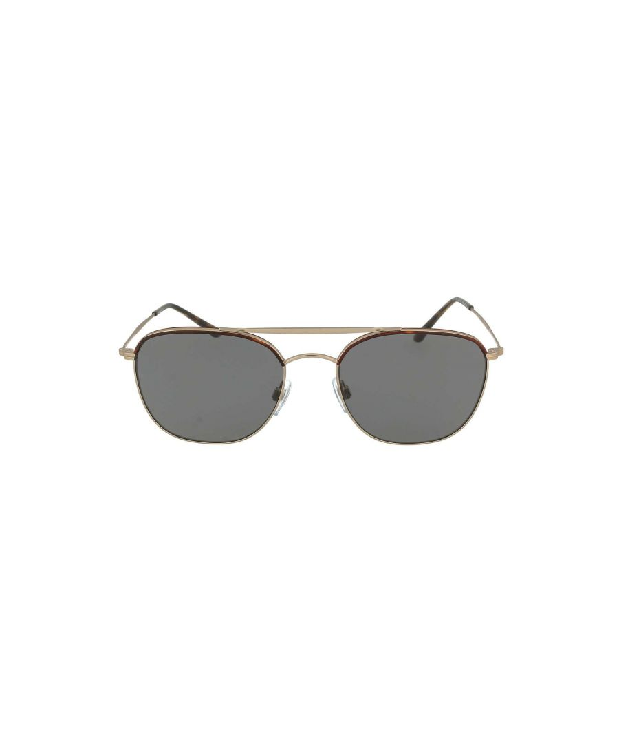 Image for GIORGIO ARMANI MEN'S 6058JSOLE300481 BROWN METAL SUNGLASSES