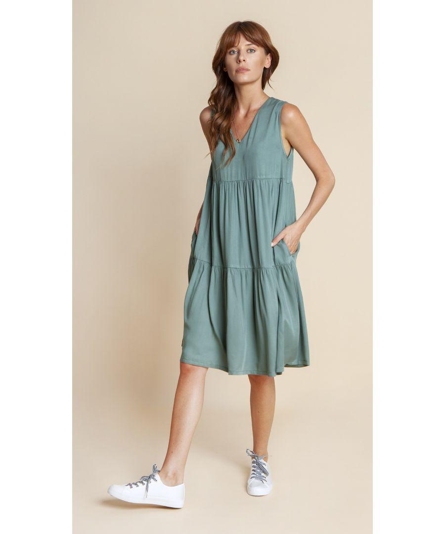 Image for Dress Celine Pastel Green