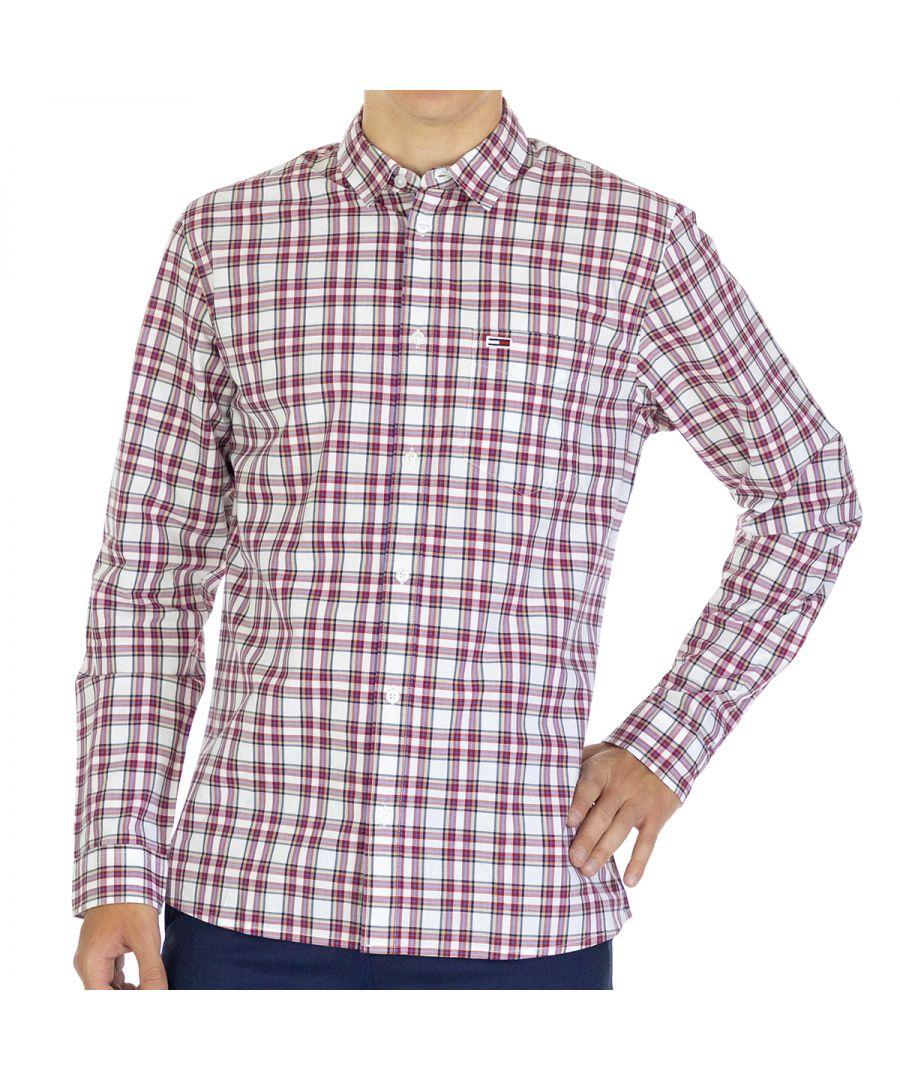 Image for Tommy Hilfiger Men Shirt Regular fit  Full sleeve Multicolor