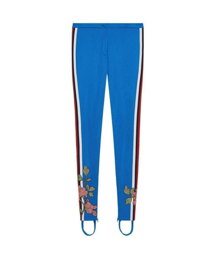 Image for Gucci Embroidered Jersey Stirrup Legging