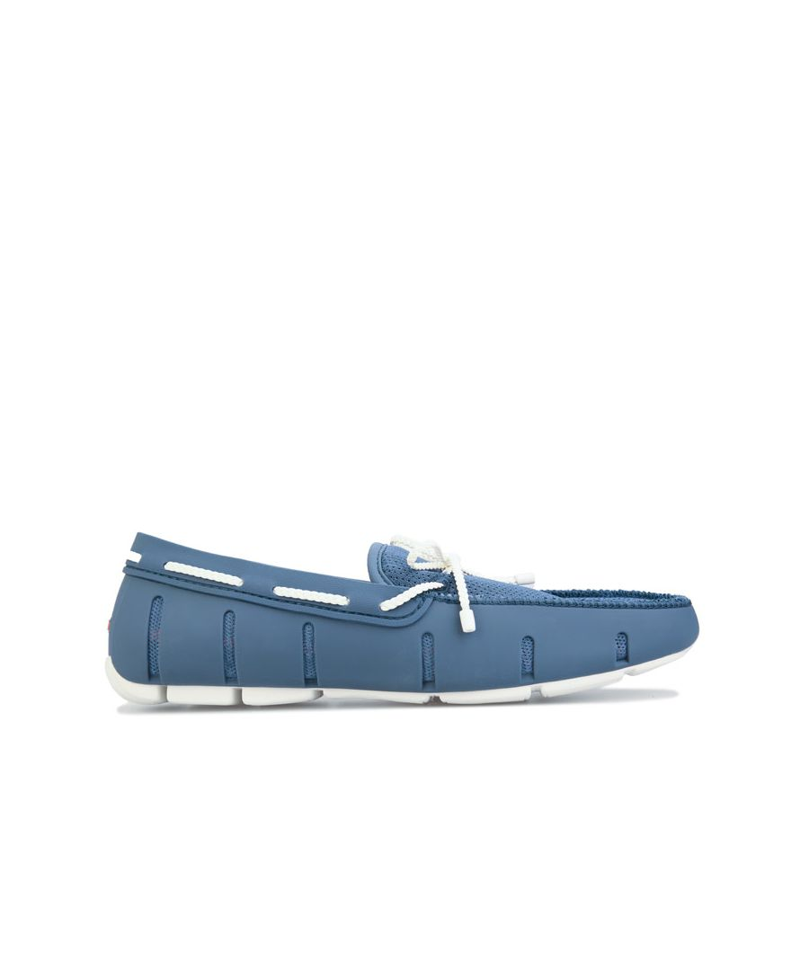 Image for Men's Swims Braided Lace Loafer in Navy