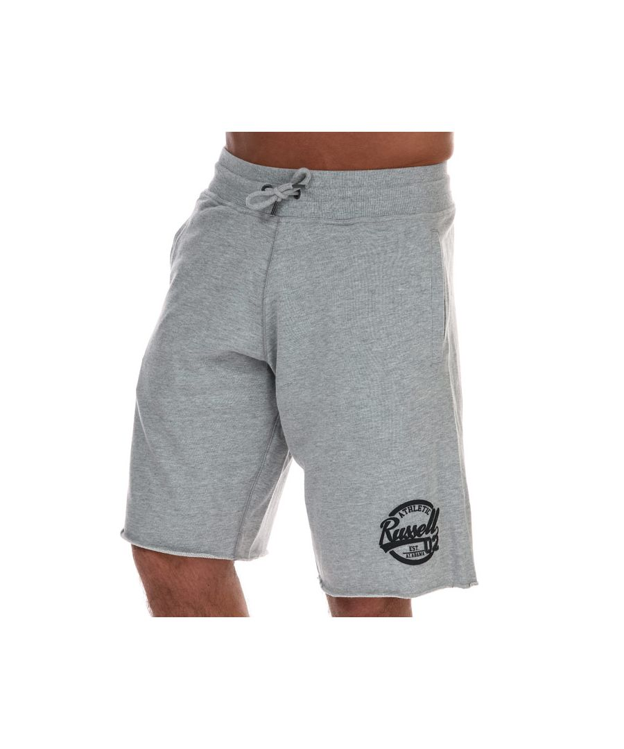 Image for Men's Russell Athletic Shorts in Grey Marl