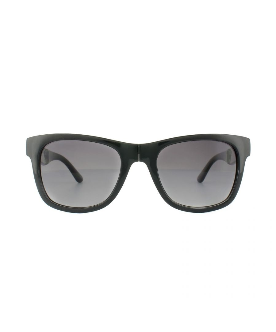 Image for Lacoste Sunglasses L778S 001 Black Grey Gradient Folding
