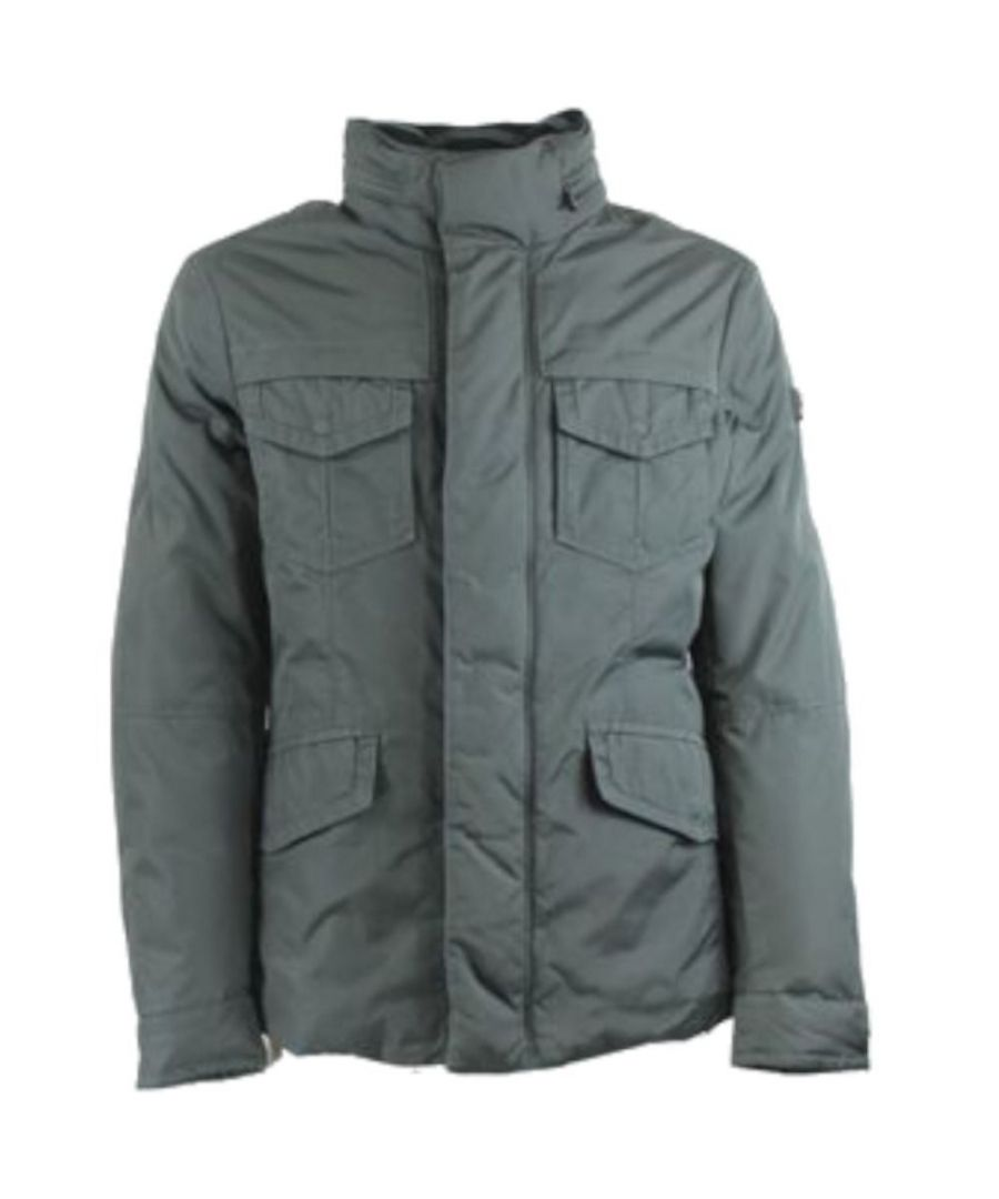 Image for PEUTEREY MEN'S PEU3324799 GREY POLYESTER OUTERWEAR JACKET