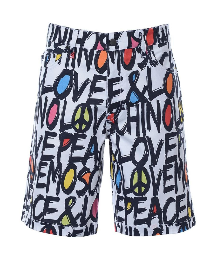 Image for Love Moschino Mens Shorts in Multicoloured