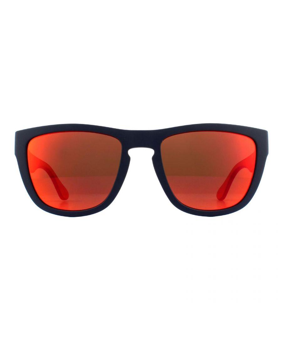 Image for Tommy Hilfiger Sunglasses TH 1557/S FLL UW Matte Blue Orange Mirror