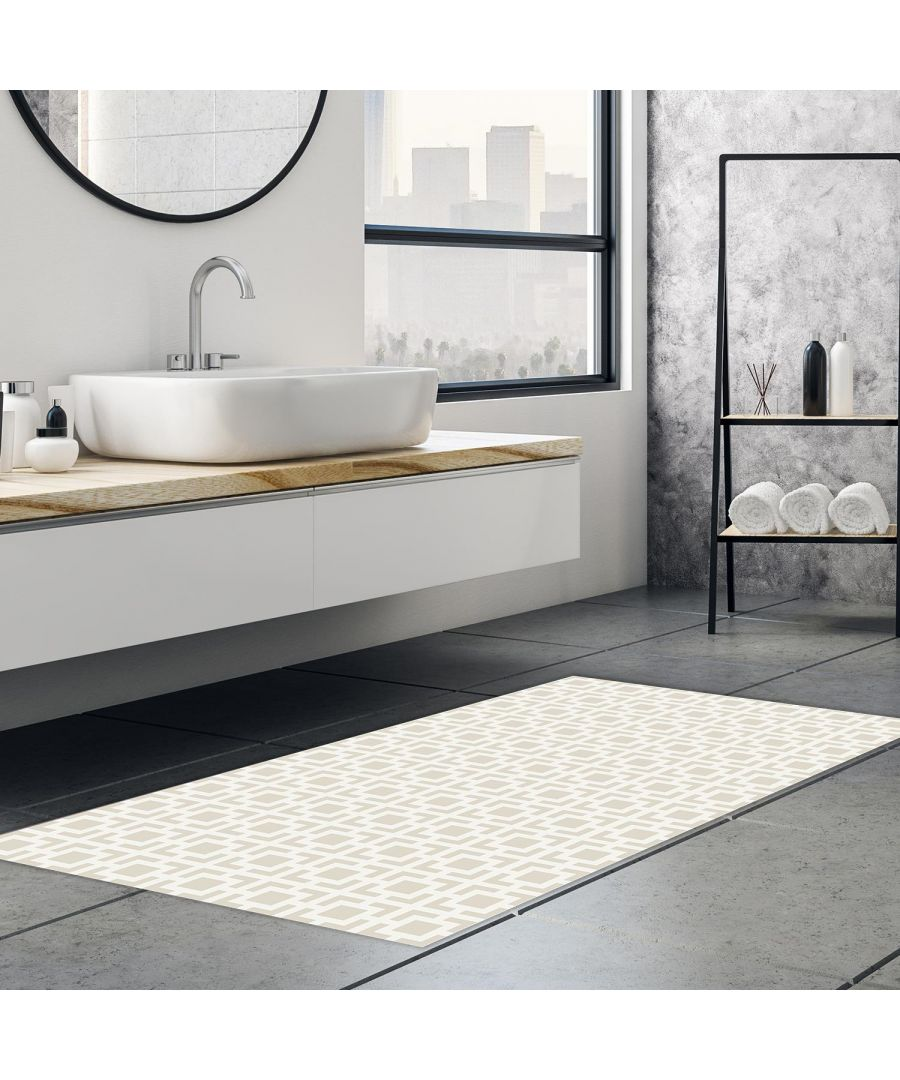 Image for Interconnected Square Seamless Pattern Mat 66 x 120 cm Floor Mats, Floor Rugs
