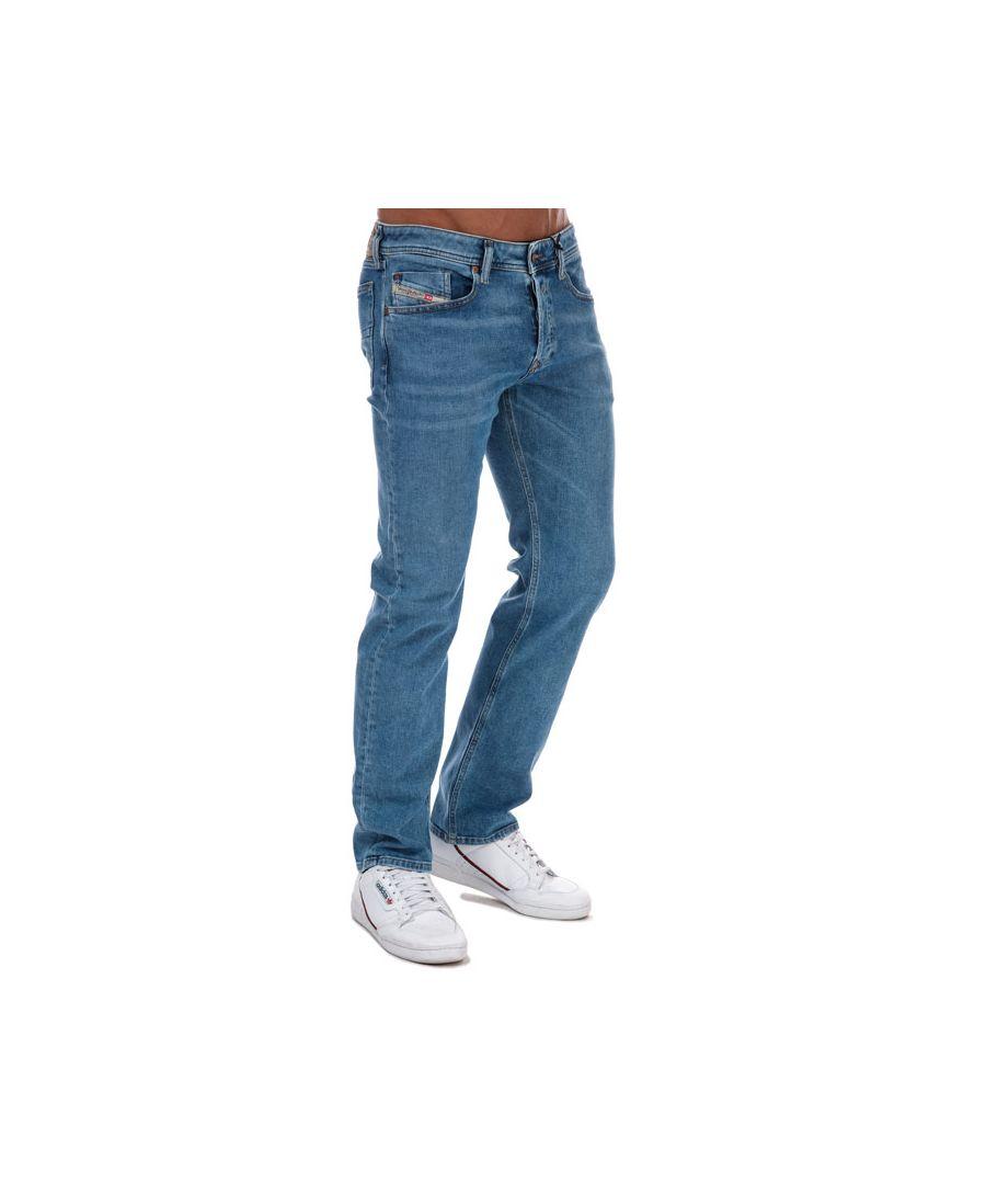 Image for Men's Diesel Waykee Regular-Straight Jeans in Light Blue