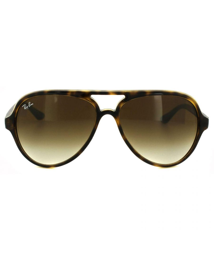 Image for Ray-Ban Sunglasses Cats 5000 4125 710/51 Havana Brown