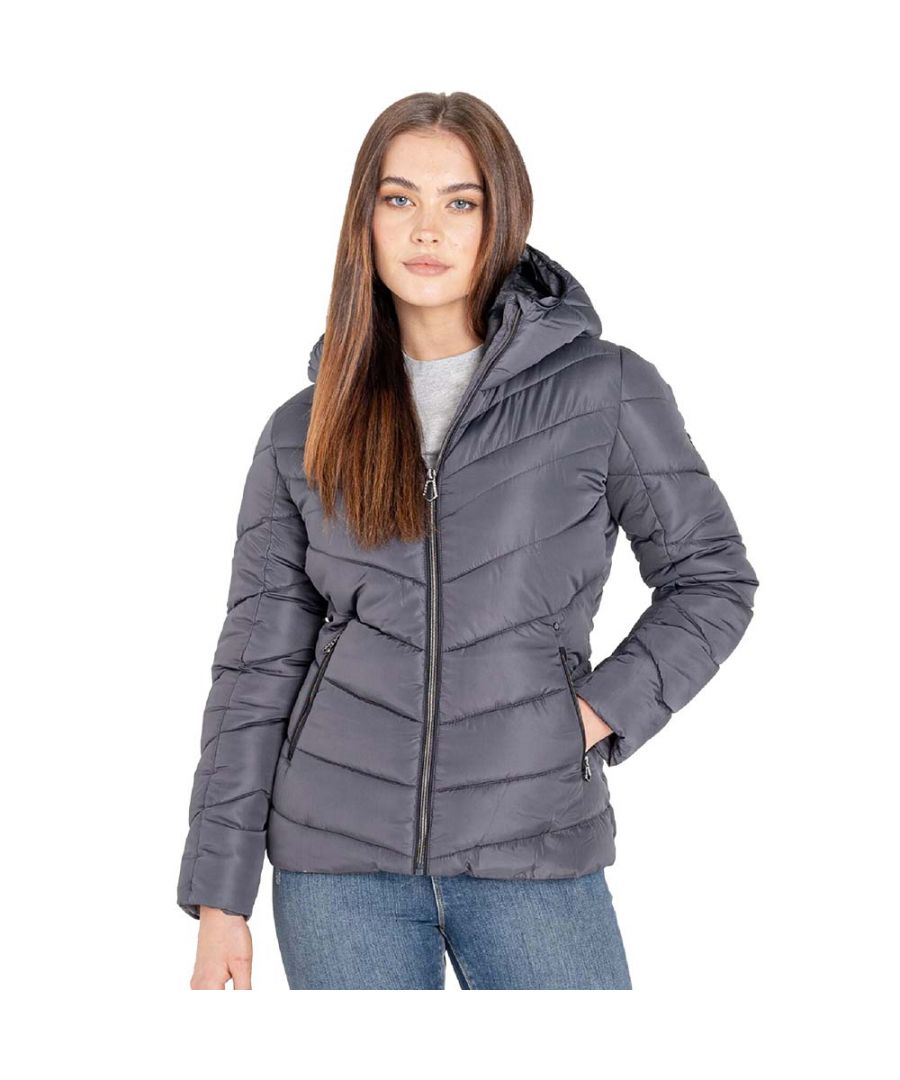 Image for Dare 2b Womens Reputable Full Zip Padded Insulated Coat