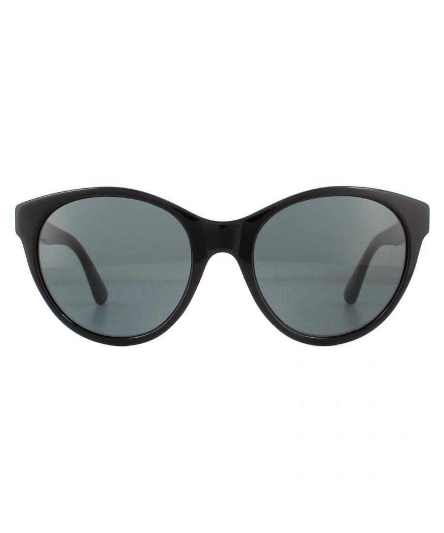 Image for Gucci Sunglasses GG0419S 001 Black Grey