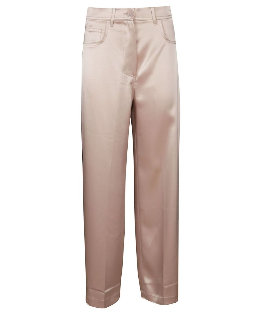 Image for NANUSHKA WOMEN'S MARFAHIMALAYANSALT PINK ACETATE PANTS