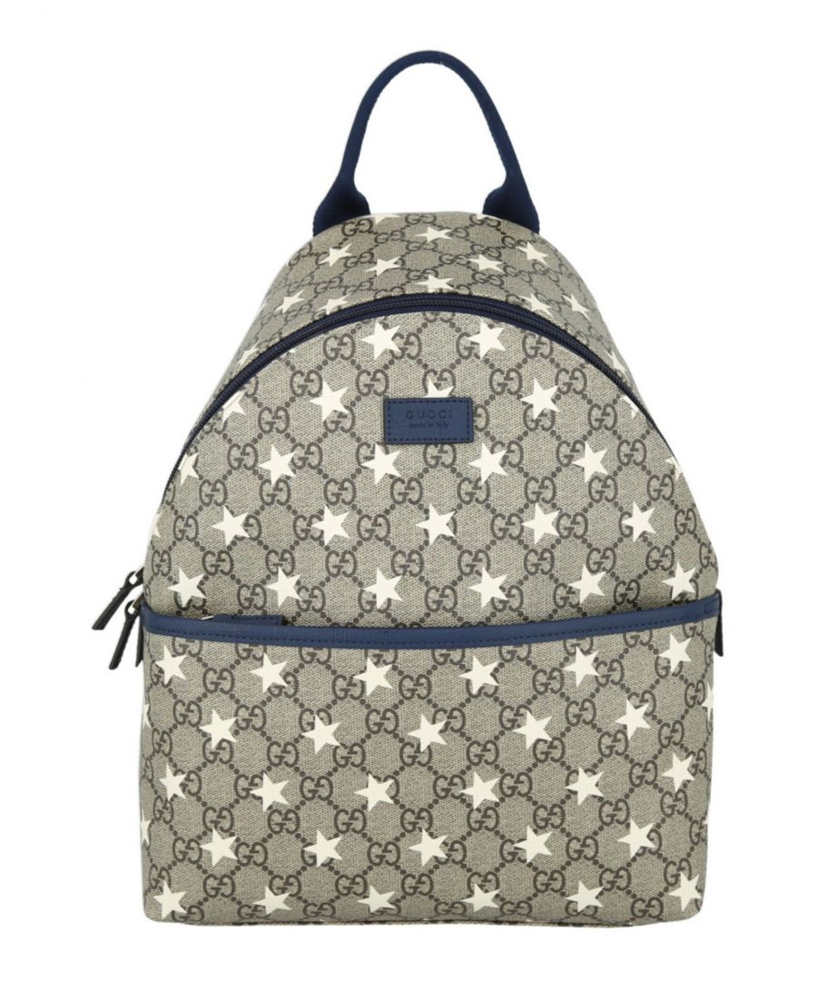 Image for Gucci Kids Gg Supreme Stars Backpack