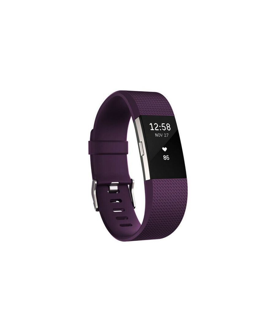 Image for Aquarius Fitbit Charge 2 Classic Replacement Straps Purple
