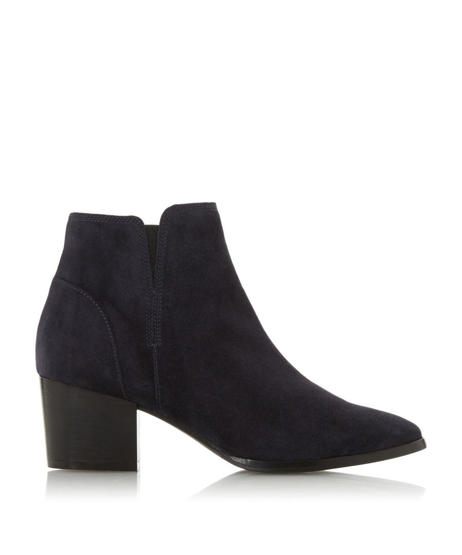 Image for Dune Ladies PAYGE Mid Block Heel Ankle Boots