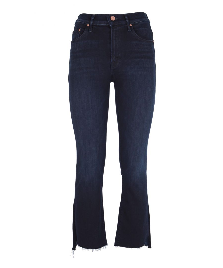 Image for MOTHER WOMEN'S 1157800 BLUE COTTON JEANS