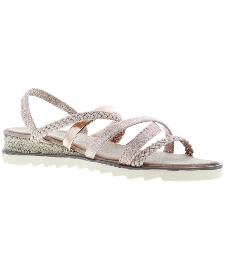 Image for Comfort Plus caroline Womens Gladiator & Strappy Sandals gold