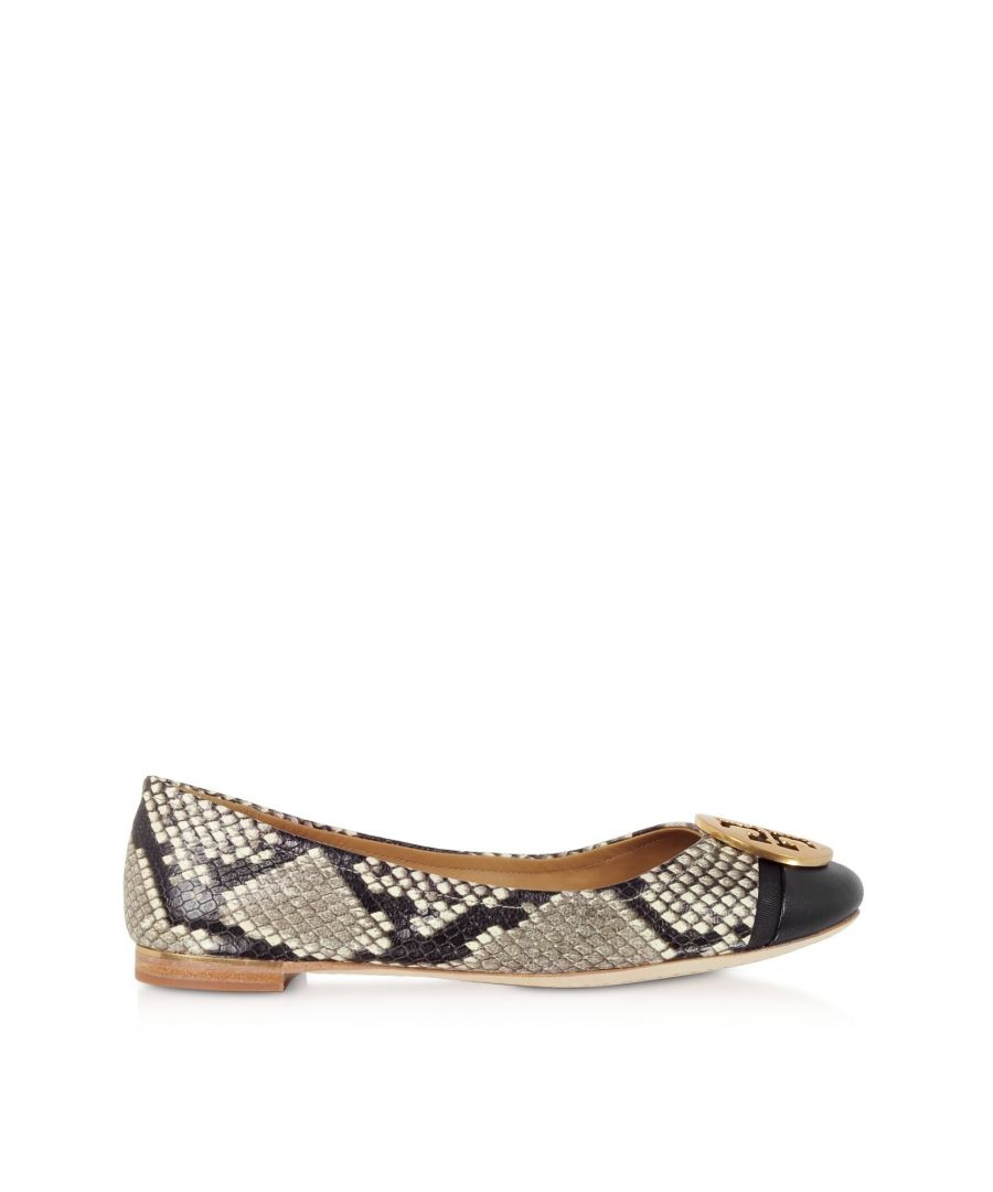 Image for TORY BURCH WOMEN'S 64579974 MULTICOLOR LEATHER FLATS