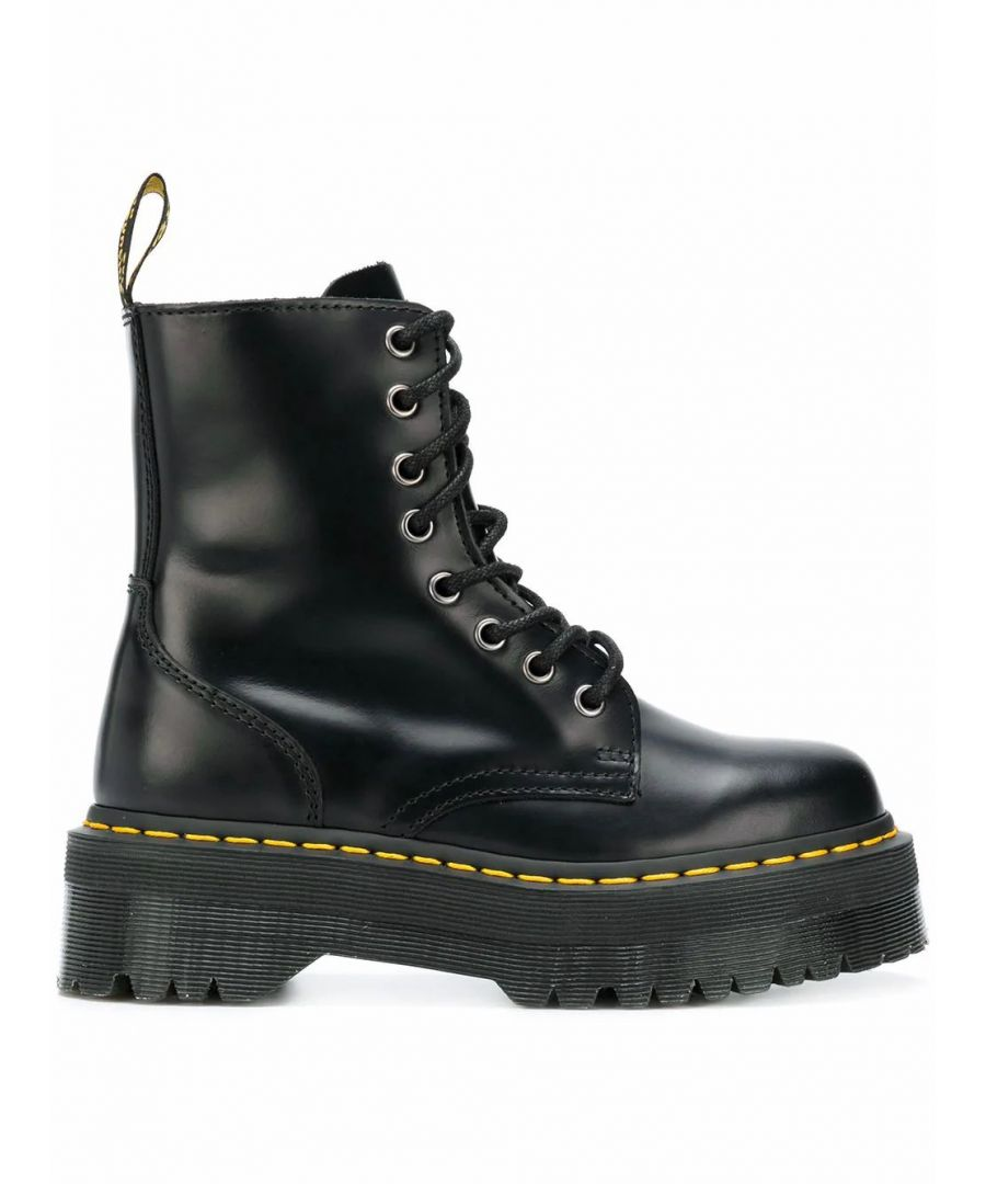 Image for DR. MARTENS WOMEN'S 15265001 BLACK LEATHER ANKLE BOOTS