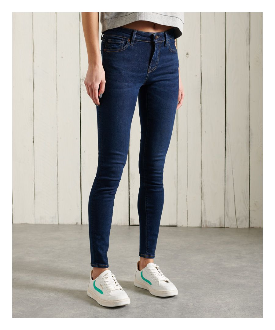 Image for Superdry Mid Rise Skinny Jeans