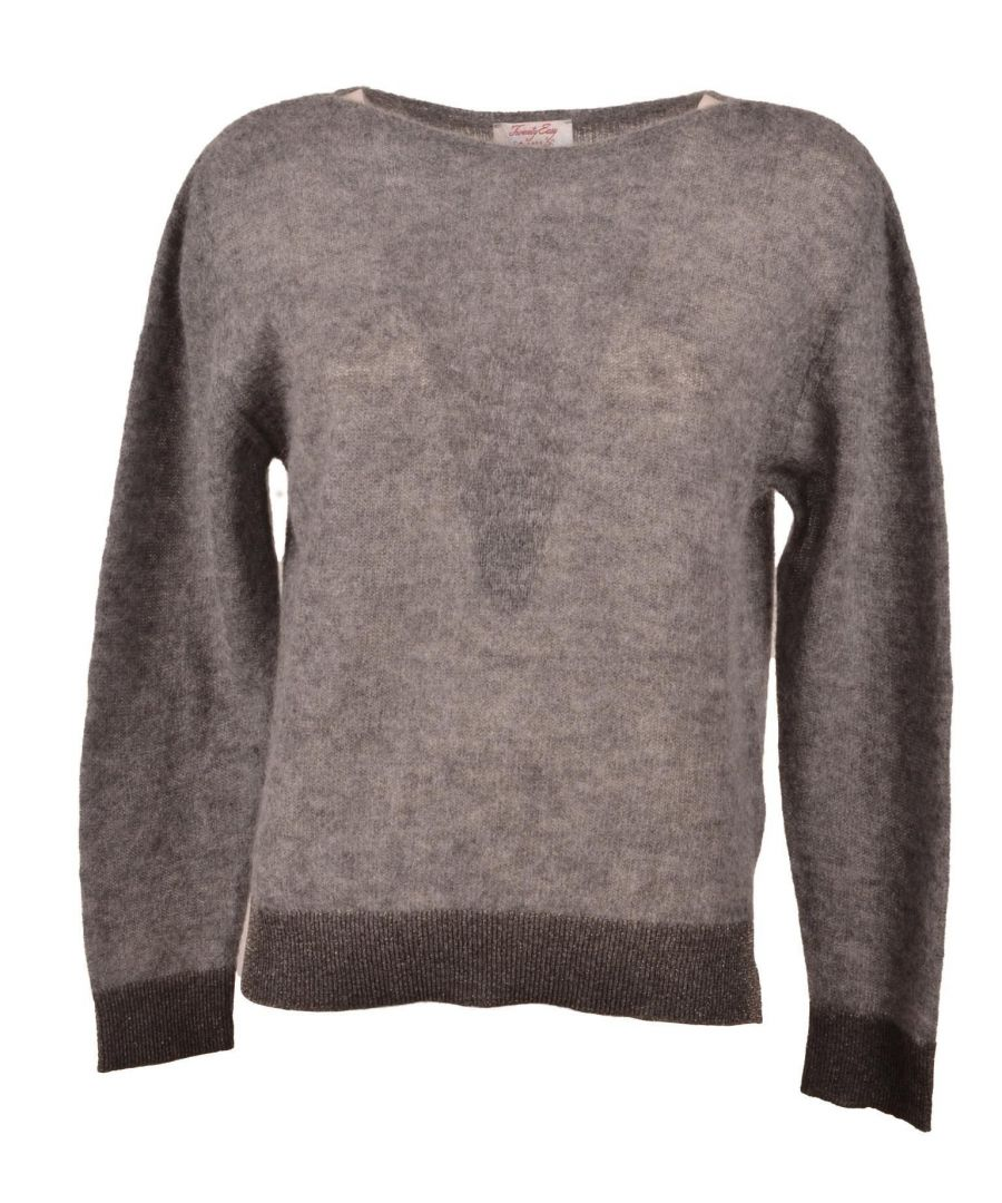 Image for TWENTY EASY BY KAOS WOMEN'S FP005GREY GREY WOOL SWEATER