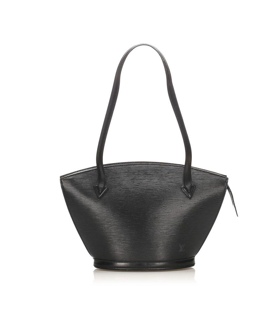 Image for Vintage Louis Vuitton Epi Saint Jacques Long Strap PM Black