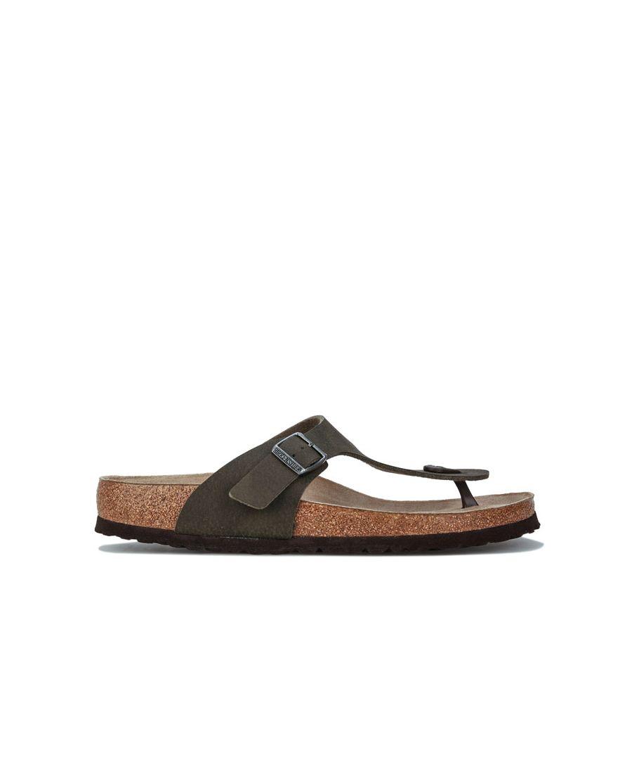 Image for Men's Birkenstock Gizeh Desert Soil Sandal in Khaki