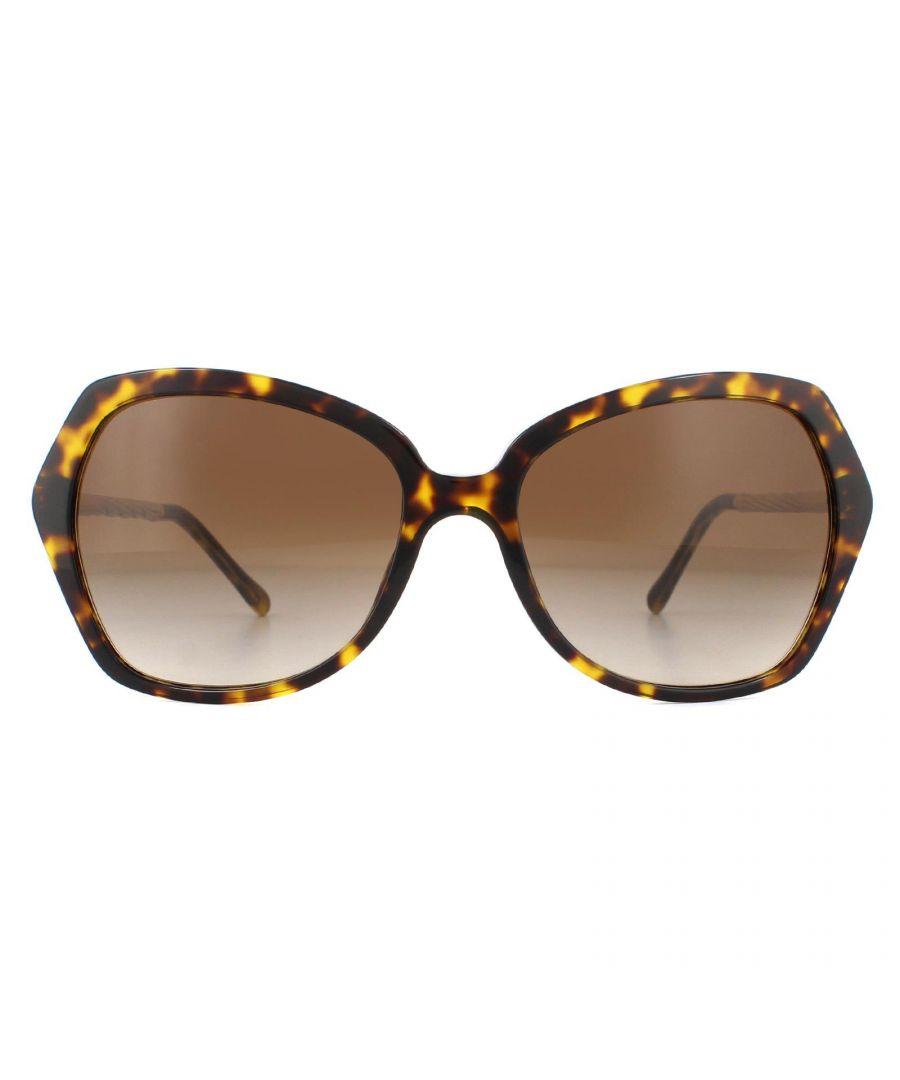 Image for Burberry Sunglasses BE4193 300213 Dark Havana Brown Gradient