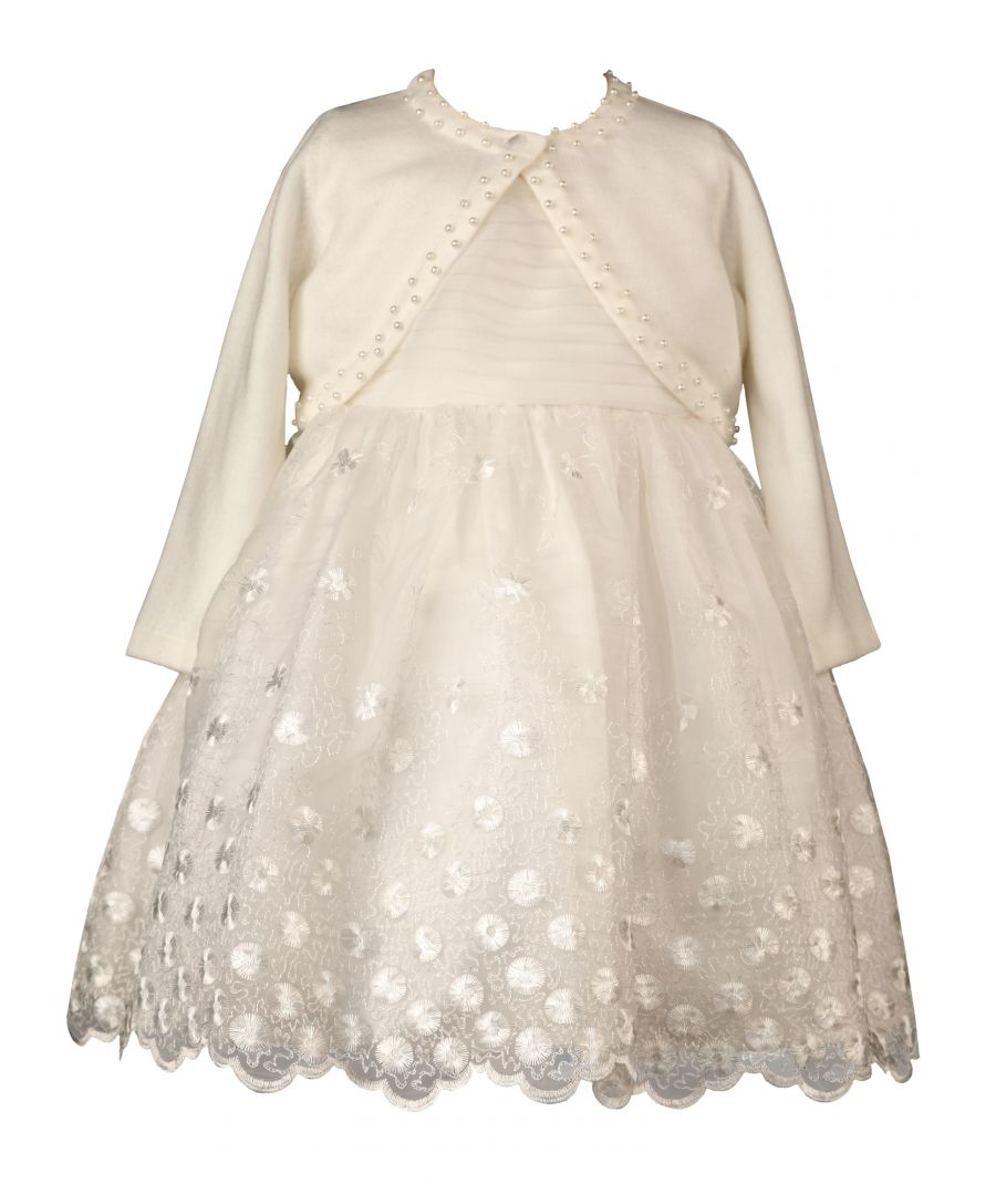 Image for Baby Special Occasion Dress and cardigan