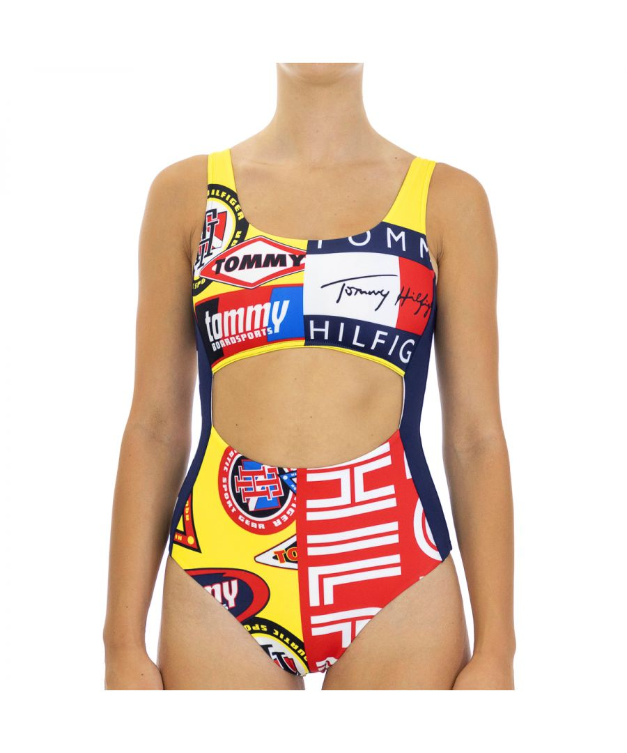 Image for Tommy Hilfiger Women's Swimwear Cheeky Multicolor