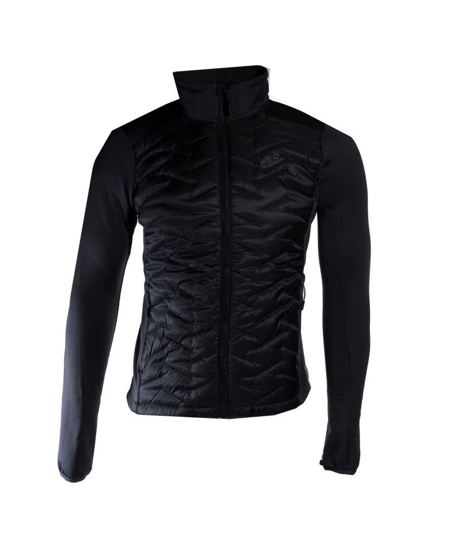 Image for Jack Wolfskin Inner Hybrid Mens Jacket Charcoal - M