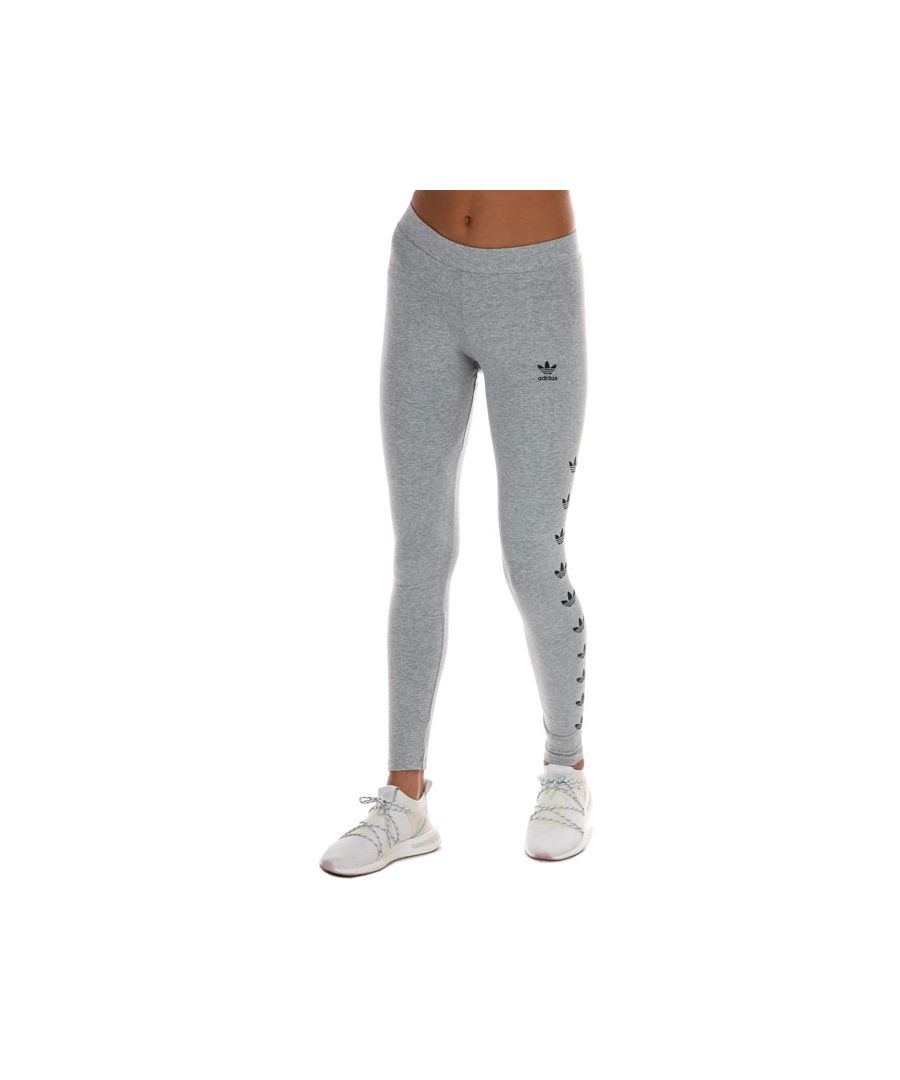 Image for Women's adidas Originals Leggings In Grey Heather