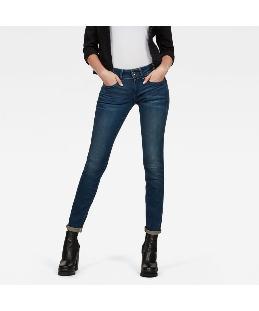 Image for G-Star RAW Midge Cody Mid Waist Skinny Jeans