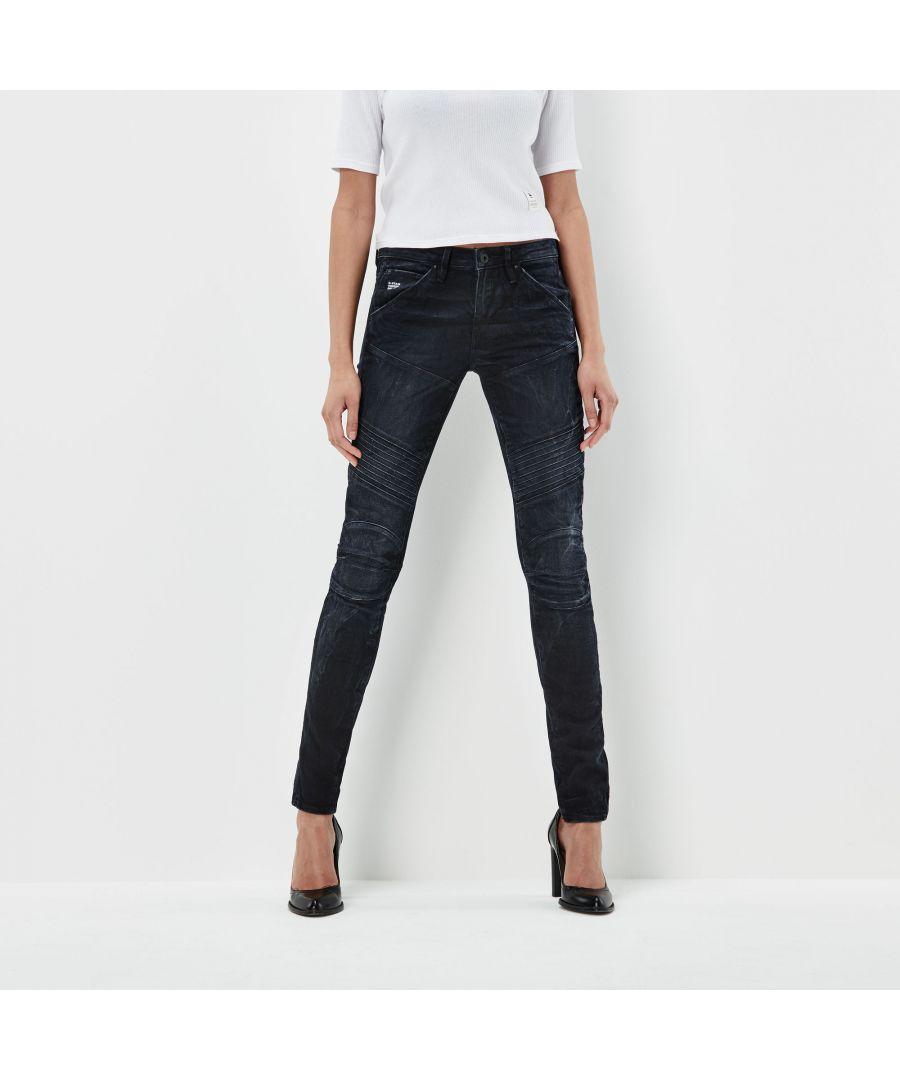 Image for G-Star RAW 5620 Custom Mid Skinny Jeans