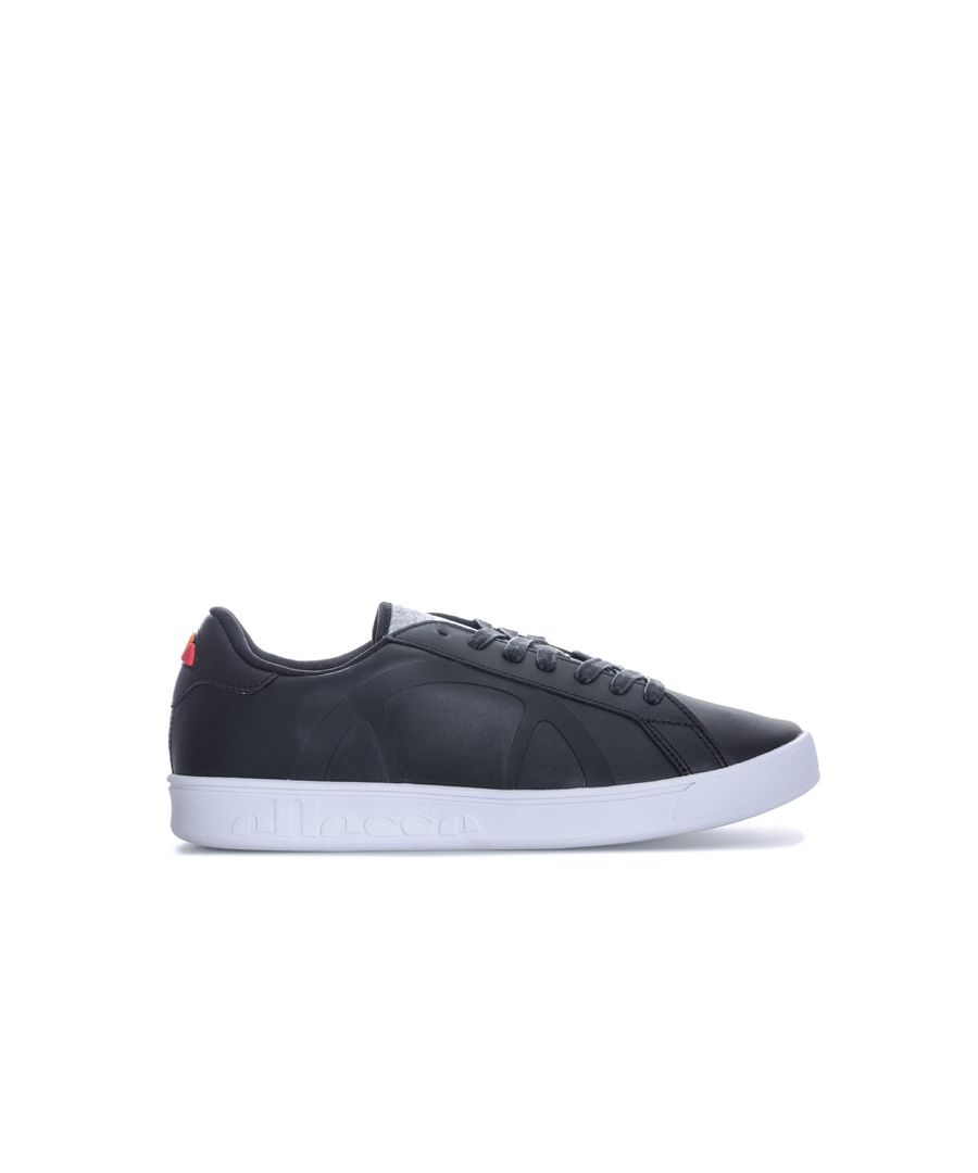 Image for Women's Ellesse Campo Leather Trainers in Black