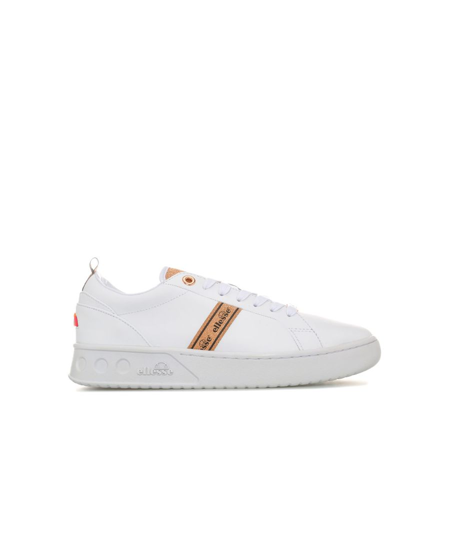 Image for Women's Ellesse Mezzaluna Leather Trainers in White